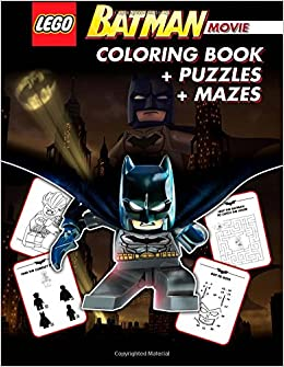 LEGO BATMAN THE MOVIE Coloring Book Great Activity Book For Kids