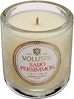 product image for Voluspa Classic Boxed Votive Candle, Saijo Persimmon, 3 Ounce
