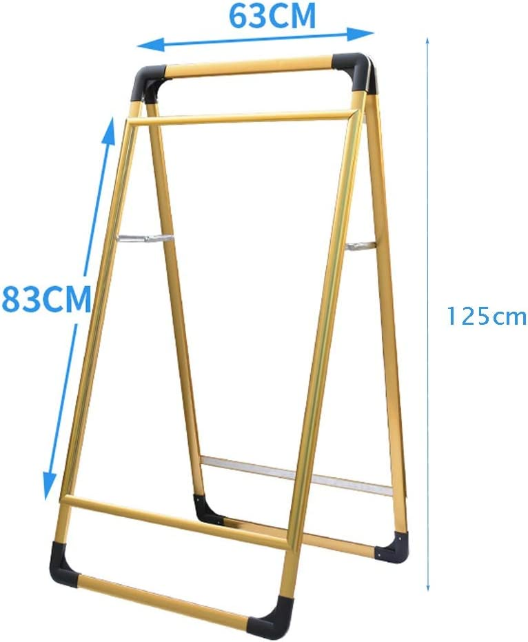 Sign Stand-Advertising Stand Paper Holder Display Stand Sign Holder-Suitable for 83x63cm 93x63cm Posters//Foldable Portable//Double-Sided Display//Suitable for All Walks of Life Sign Holder