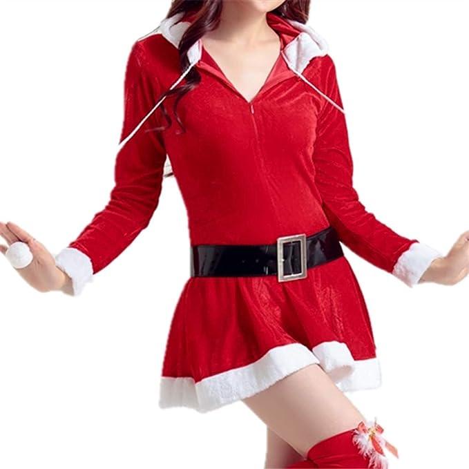 LINSID-Navidad Santa Claus Adulto Ropa Hombres Y Mujeres Festival ...