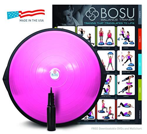 Bosu Balance Trainer, 65cm - Pink (Best Balance Exercises For Athletes)