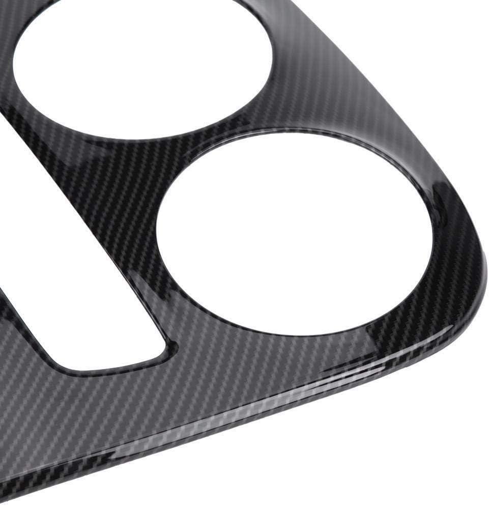 Glc X253 Colore Fibra di Carbonio Vaorwne ABS Pannello Console Centrale Decorazione Finitura Copertura 2 Pezzi per Mercedes Classe C W205