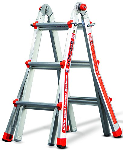 Little Giant Ladder Systems 14010 001 13 Feet 250 Pound Duty Rating  Alta One Model 13 Ladder System