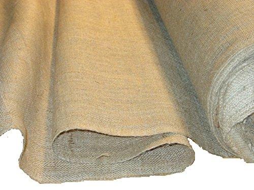 40 inch wide 10 oz Burlap Roll 100 yards]()