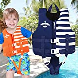 Kids Swim Vest - Child Life Jacket Baby Float Swimwear with 3 Safety Buckle