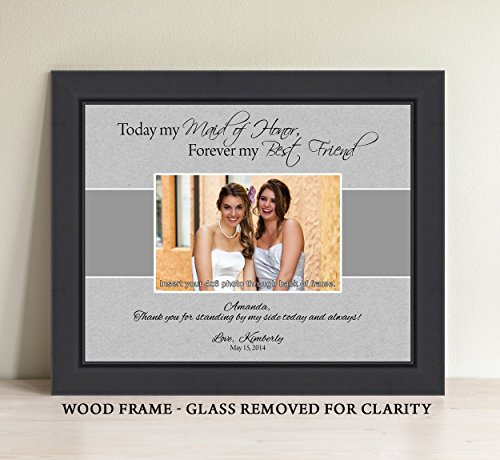 Personalized Gift Matron Bridesmaid Picture product image