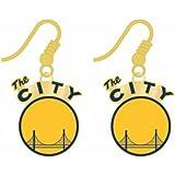 Golden State Warriors Dangle Earrings