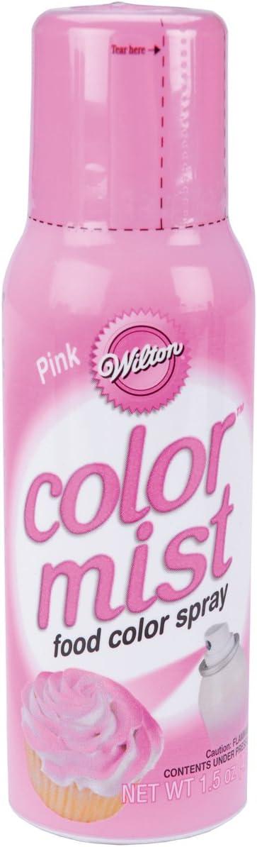 Wilton Food Decorative Color Mist, Pink