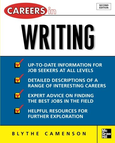 Careers in Writing by McGraw-Hill Education
