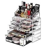 DreamGenius Makeup Organizer 3 Pieces Acrylic