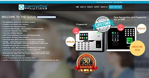 Biometric Fingerprint Time Clock   14 85/Month Min LIC - Import It All
