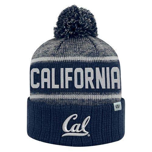 Top of the World Cal Bears Official NCAA Cuffed Knit Acid Rain Beanie Stocking Stretch Sock Hat Cap 068794