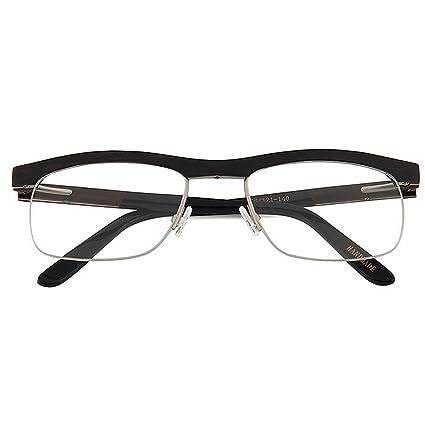 d12d3188d2 Adult Eyewear Gafas semi-sin montura de madera hechas a mano de alta  calidad para