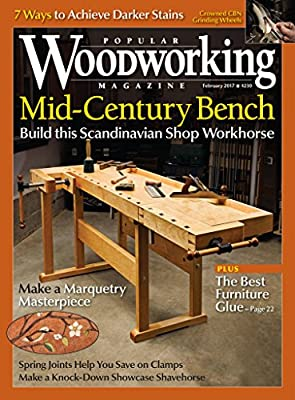 Popular Woodworking [Print + Kindle] by F&W Publications