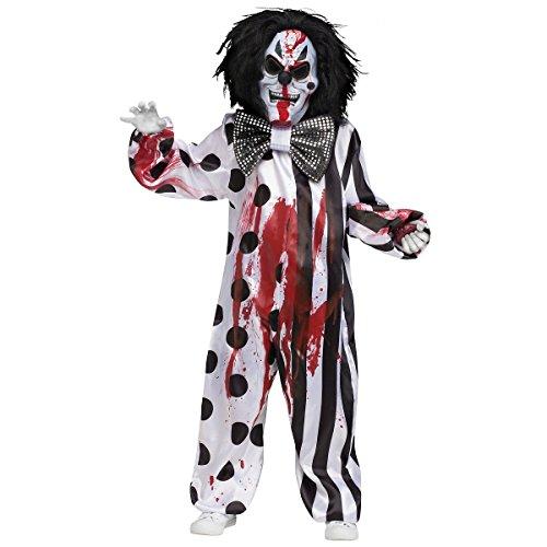 Fun World Bleeding Killer Clown Childrens Costume,