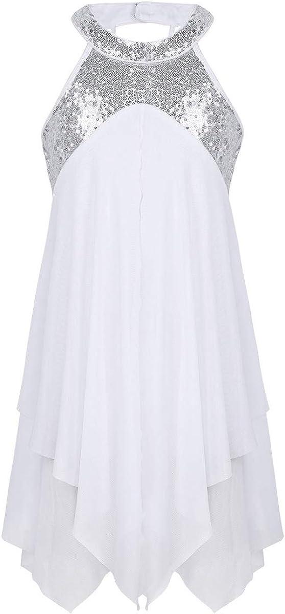 ranrann DRESS ガールズ ホワイト