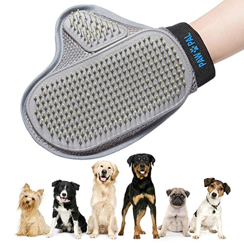 Pet Hair Removal Massage Glove For Dogs Cats Grooming 2 In 1 Grooming Kit For Dogs Grooming