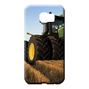 samsung galaxy s6 edge covers High-end Protective mobile phone skins john deere famous top?brand logo