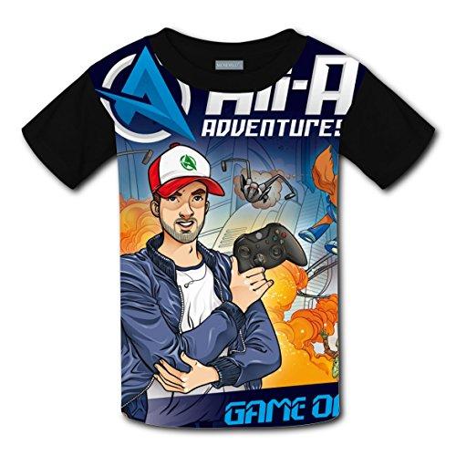 Captain Underpants Fancy Dress Costume (Hrix Tee Shirt Ali_A Print M Short Sleeve For Kids)