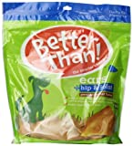Better Than Ears Premium Dog Treats, Peanut Butter Flavor, 36-Count per Pouch by Rachael Ray Nutrish