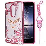 zte imperial cell phone covers - ZTE Zmax Pro Case , ZTE Imperial Max Z963U Case ,ZTE Grand X Max 2 Case , Luxury Bling Clear Slim TPU Soft Stand Case Cover For ZTE Max Duo / Carry Z981 / Kirk Z988 [Best Share] , Fly Stand & Strap