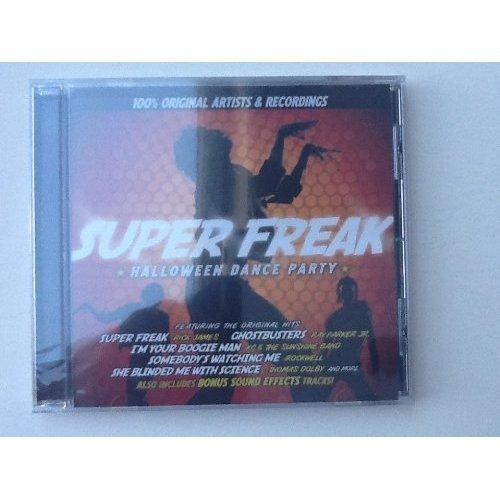 Super Freak Halloween Dance Party CD Universal (2013)