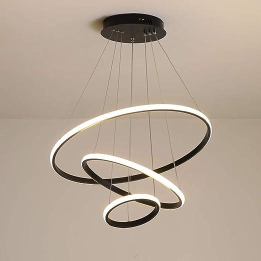 Sospensione Design Lampadari Camera Da Letto.Led Lampada A Sospensione Moderno 3 Anello Tondo Design Lampadario