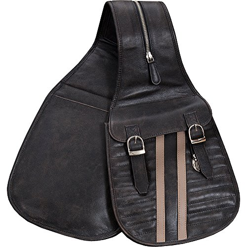 Scully Riding Gear / Track Saddle Bag (Black) by Scully