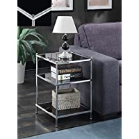 Convenience Concepts 134045B Royal Crest End Table