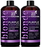 #7: ArtNaturals  Color Balance and Tone Purple Shampoo and Conditioner Set ,2x 16 Fl Oz (473ml)