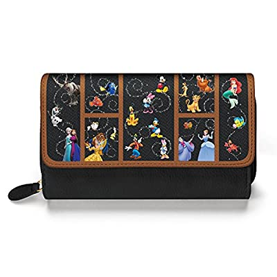 Carry The Magic Disney Women's Wallet by The Bradford Exchange