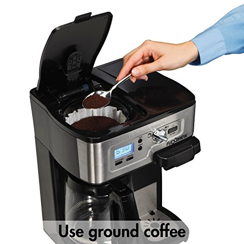 040094499830 - Hamilton Beach 49983 2-Way FlexBrew Coffeemaker carousel main 1