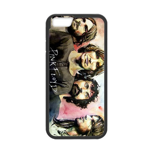 Fayruz- Personalized Protective Hard Textured Rubber Coated Cell Phone Case Cover Compatible with iPhone 6 & iPhone 6S - Pink Floyd F-i5G932