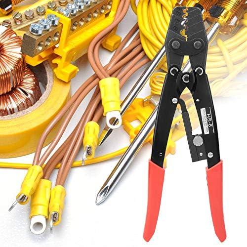 ケーブルプライヤー、専門の高硬度ラチェットワイヤーターミナルクリンパー、しっかりとしたグリップと正確な圧着能力のための圧着ハンドツール