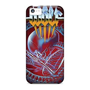 Iphone 5c BXh9441UMBB Provide Private Custom Trendy Dragonforce Band Skin Excellent Hard Phone Covers -MansourMurray
