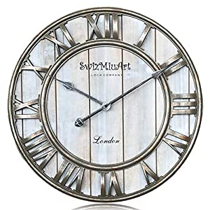 519RgqCMYyL._SS300_ 100+ Beach Wall Clocks and Coastal Wall Clocks 2020