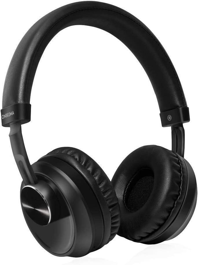 Onikuma B10 Auriculares Inalámbricos Bluetooth,Auriculares Estéreo con Conector de Audio de 3.5 mm para PS4, Xbox, Computadora Portátil, Movil, Auriculares Bluetooth