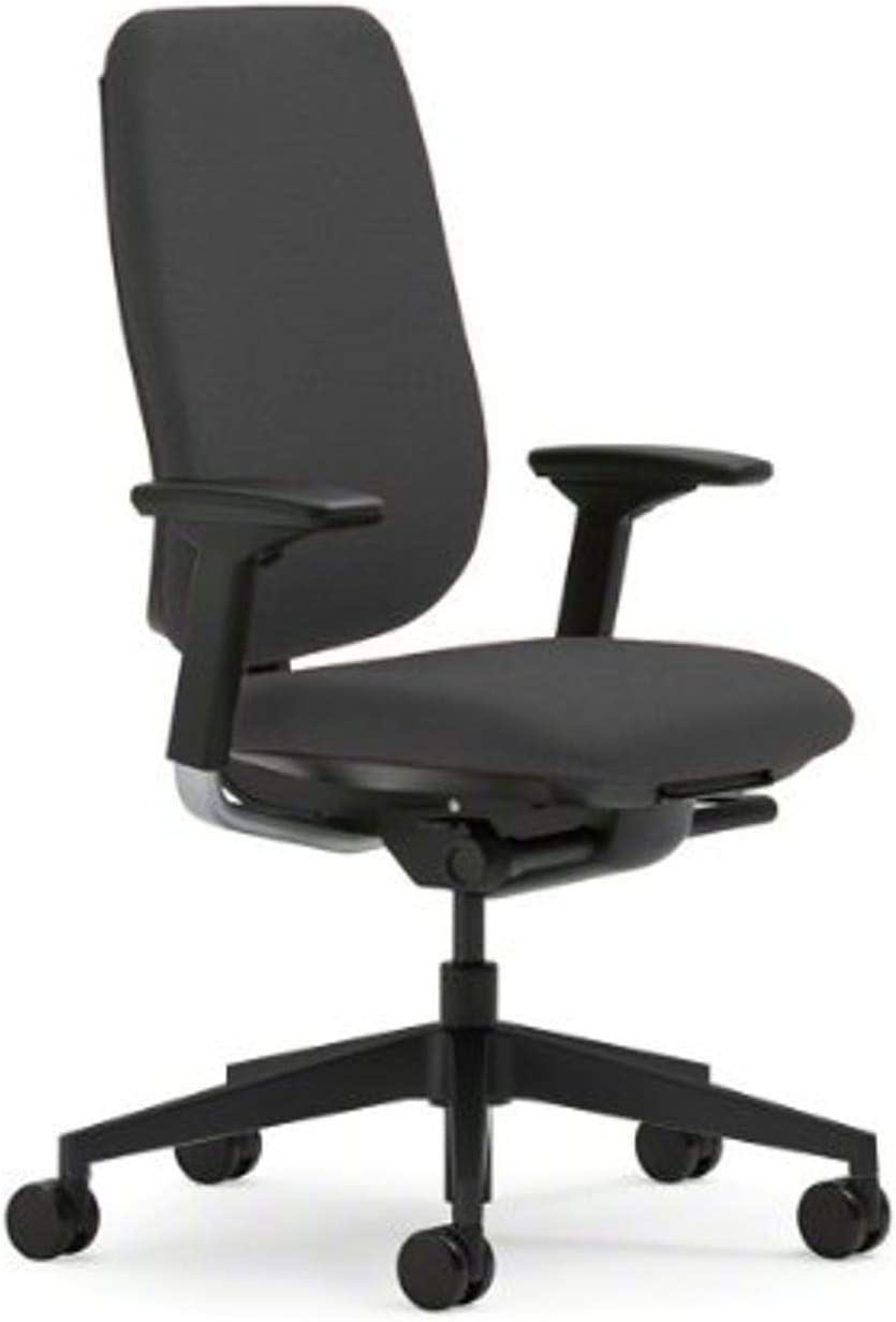Steelcase Reply Chair, Grey Fabric -