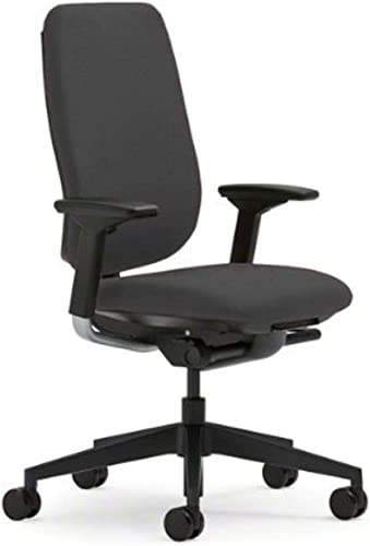Steelcase Reply Chair, Grey Fabric –