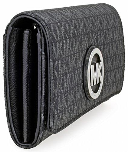 Michael Kors Fulton Signature Carryall Wallet - Black - 32S7SFTE3B-001 by MICHAEL Michael Kors (Image #1)