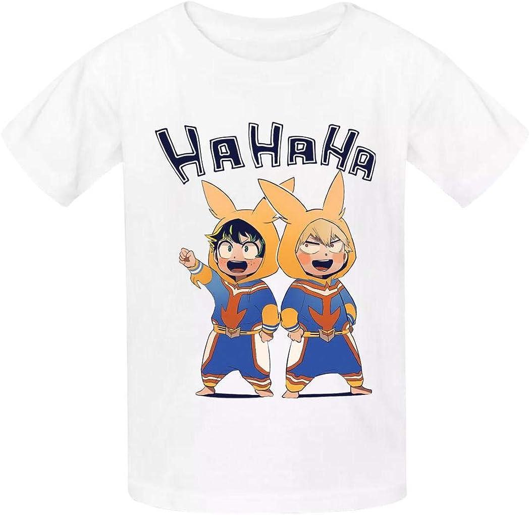 BTXX My Hero Academia Children t-Shirt Boys Shirts Funny Kids Short Sleeve t Shirt