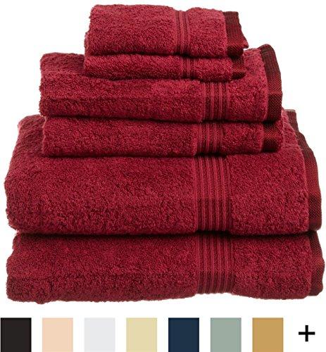 Spa Quality Towels: Superior Luxurious Soft Hotel & Spa Quality 6-Piece Towel