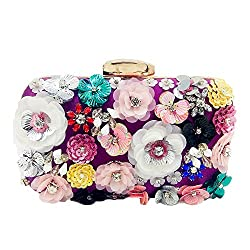 Vintage Flower Clutches