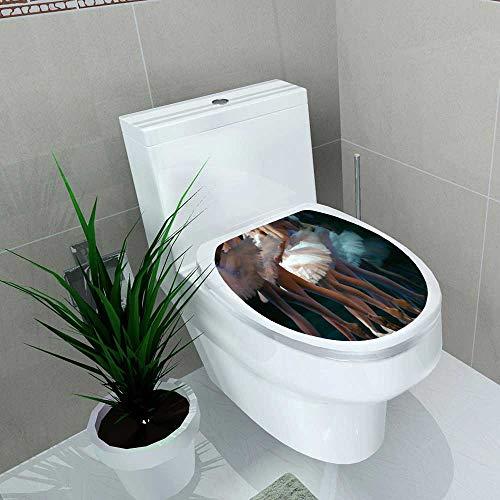 Auraise-home Decal Wall Art Decor Ballet for Toilet Decoration W11 x L13 (Louis Vuitton Ballet)