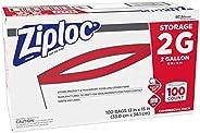 Ziploc PRO Storage 2 Gallon 100ct