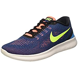 519RjDdhK6L. SS300  - Nike Free RN Mens Running Trainers 831508 Sneakers Shoes (US 9.5, Purple Dynasty Black Volt 501)