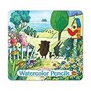 Eeboo 24 Watercolor Pencils: Walk To The Sea