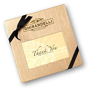 Thank You For Your Business Deluxe Gift Box With