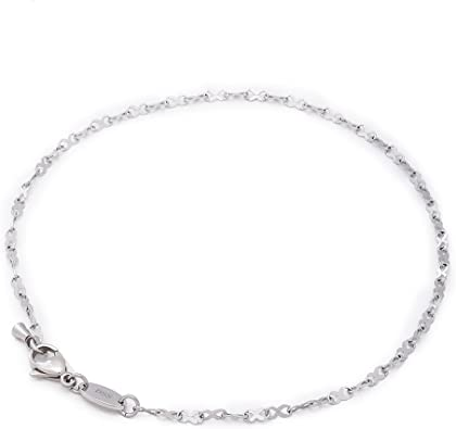 Chain Anklet-Chain Bracelet-Stailess Steel Chain-Silver Chain-Minimal Anklet