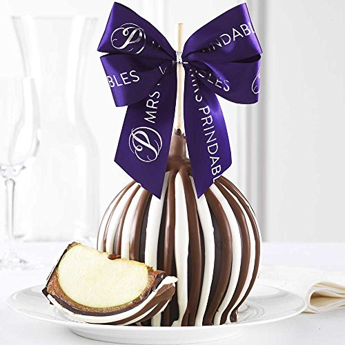 Chocolate Gourmet Apples (Triple Chocolate Jumbo Caramel Apple Gift)